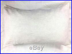 100% Natural Washed Linen Flax Bedding Duvet Covers, Pillow Cases, Fitted Sheets