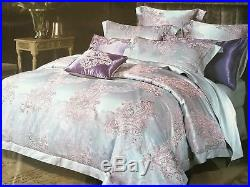 100% Silk Double (200x230cm) Duvet Bed Cover Set (4 items) with 400 thread count