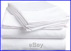 1200 Thread Count Egyptian Cotton UK-Size All Bedding Items White Solid