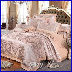 4-Piece MAJESTY Luxury Bed Linen Bed Sheets Duvet Cover Set