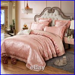 4-Piece MAJESTY Luxury Bed Linen Comforter Cover Bed Sheets Duvet Cover Set