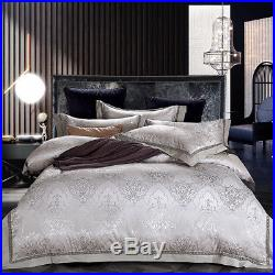 4-Piece MAJESTY Luxury Bed Sheets Comforter Duvet Cover Set