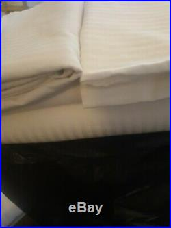 6 ex hotel Double duvet set with flat sheet cotton and pillow cases