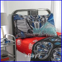 6pc 2017 TRANSFORMERS Movie 5 COMFORTER+SHAM+SHEETS SET Full/Double Bed in a Bag