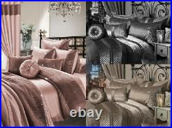 7Piece Set Zina&Kylie Bedding Set Duvet Cover/Fitted Sheet/Pillows/Cushion&Cover