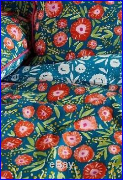 Anthropologie Floral Double Bedding Set / 4 pillowcases and duvet cover