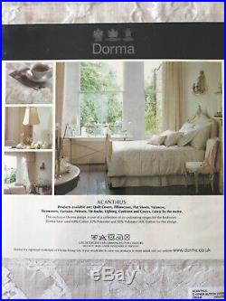 BNWT £250 Dorma Jacquard Damask Duvet Set Double Quilt 4 X Pillowcases Lampshade