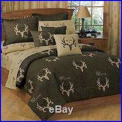 BONE COLLECTOR Complete Bed and Bath Set 14 PIECE Free Shipping! Bundle and Save
