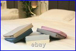 Bamboo Bed Linen set. 100% Bamboo. Antibacterial, hypoallergenic. Taupe. 5 sizes