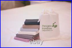 Bamboo Bedding set. 100% Bamboo. Luxurious. Hypoallergenic. Taupe. 5 sizes