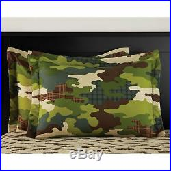 Boys Comforter Set Army Kids Full Bed in a Bag 7 Pcs Bedding Sheets Military NEW