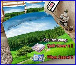 Brick Red Starry 3D Printing Duvet Quilt Doona Covers Pillow Case Bedding Sets