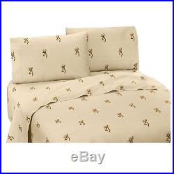Browning Buckmark Comforter Set with Sheets and Curtain Set FREE SHIPPING