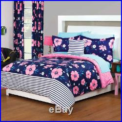 Camelia Floral Pink Comforter Double Sided Set New Girls Teens Bedding by Intima