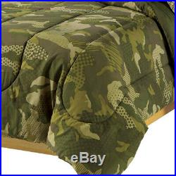 Camouflage Comforter Bedding Set Boys Military Bedroom Full Size Bed Sheet Camo