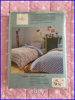 Cath Kidston Double Duvet Set With 2 Pillowcases Guards Fabric Reversible BNWT