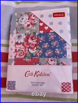 Cath Kidston Patchwork Double Duvet Set including 2 matching pillowcases