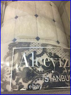 DOUBLE BEDSPREAD, BLANKET, DUVET COVER, BED SHEET, BED COVER, PILLOW COVER 9 Pcs SET