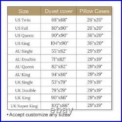 Death Moth Gothic Butterfly Moon Double Single Quilt Duvet Pillow Cover Bed Set