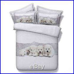Dogs Like Toys 3D Printing Duvet Quilt Doona Covers Pillow Case Bedding Sets