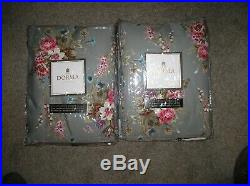 Dorma Silbury double bed sets 2 duvet covers 6 pillowcases bedspread curtains