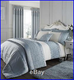 Duck Egg Catherine Lansfield Bedding Bed Set, Curtains, Duvet Quilt or Bedspread