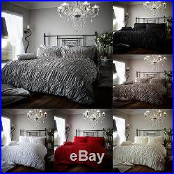 Duvet Cover Set With 2 Pillow Cases Bed Quilt Cover Set Single Double King BFRD
