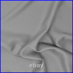 Duvet Cover and Pillow Case Double Size 100% Bamboo Quilt Panda Set Quiet Gray