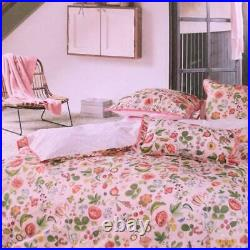 Duvet cover set with double pillowcases 2 squares PIP STUDIO Woodsy pink