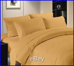 Export Quality 1000TC Hotel Gold Bedding Set 100% Cotton