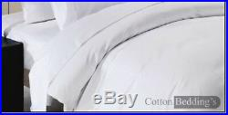 FREE SHIPPING Bedding 800 1000 1200 TC Egyptian Cotton Double Size White Color