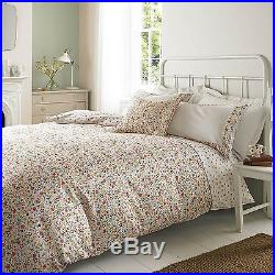 Floral Polka Dot Double Quilt Duvet Cover & 2 Pillowcase Bedding Bed Set Emma