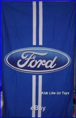 Ford LOGO DOUBLE DOONA QUILT DUVET COVER SET Ford Stock No More Falcon