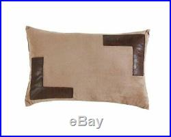 Full Queen Cal King Brown Rust Cowboy Horse Western Faux Suede 7pc Comforter Set