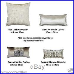 Full Set Kylie Minogue Bedding Alba Oyster/Praline Matching Accessories Included