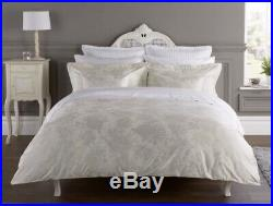 Henry Christy Belford Double Duvet Cover Set In Silver