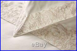 Henry Christy Sloane Double Duvet Set 100% Cotton With Embroidered Detail