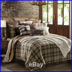 Huntsman Plaid Country Western Farmhouse Cottage Full 4-Piece Bed Set