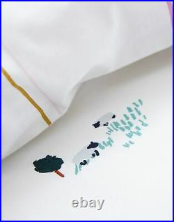 Joules Cotton Duvet Cover Set With Matching Oxford Pillowcases