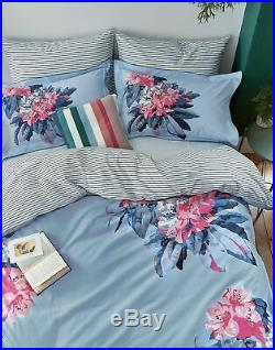 Joules Home Cornish Floral Set Duvet Cover and 2 Matching Oxford