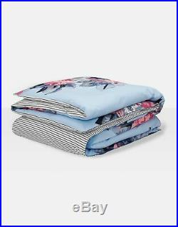 Joules Home Cornish Floral Set Duvet Cover and Matching Oxford Pillowcases