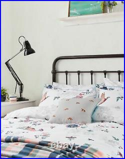 Joules Home Cotton Duvet Cover Set With Matching Oxford Pillowcases