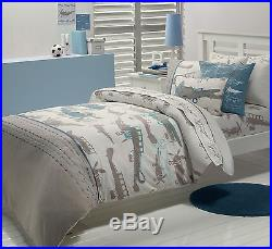 Juvenile Bedding Retro Planes Duvet Cover Set Twin or Double/Queen