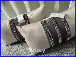 Kylie Complete Double Bedding Set Inc some NWT. Duvet Set, Cushions, Throw