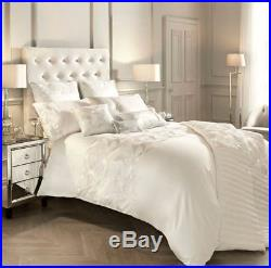Kylie Minogue Adele Oyster Cream Double Duvet Cover 7 Piece Bedding Set
