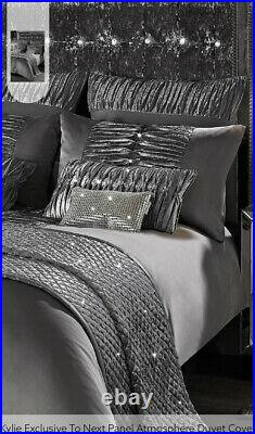 Kylie Minogue Atmosphere bed set DOUBLE Duvet Cover +2 Kylie Zander Pillowcases