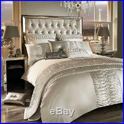 Kylie Minogue Bedding ATMOSPHERE Ivory Oyster Double Duvet Cover Set 3 Items