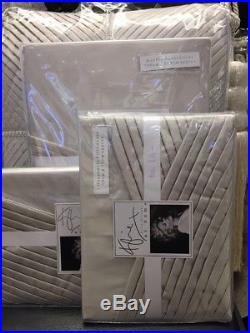 Kylie Minogue Omara Double Bed Set DUVET COVER, 2x PILLOW CASES, THROW OVER