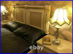 Leather Bed Sheet 4 pieces set deep snug Fitted Duvet Cover Leather Pillow cases