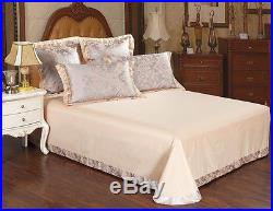 MAJESTY 4-Piece Luxury Sheets Duvet Cover Set (Full, Queen)